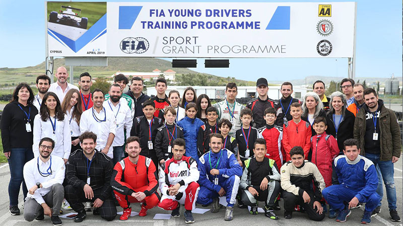 FIA Young Drivers Training Programme 2019