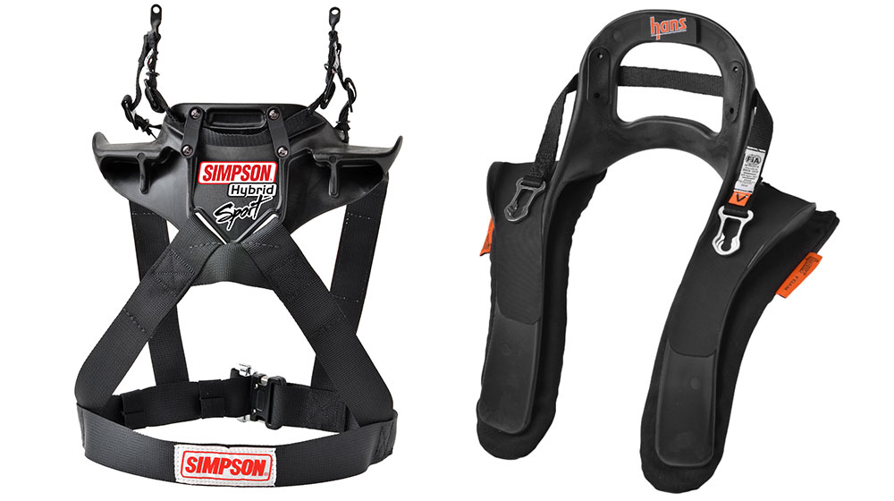 Simpson Hans devices